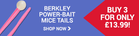 Berkley Mice Tails - 3 for £13.99