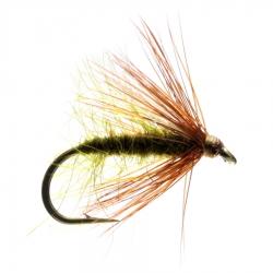 Bobs Bits Olive - Stillwater Trout Dry Flies