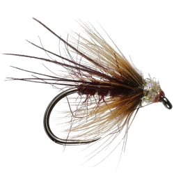 Midas Claret Stillwater Dry - Barbless - Dry Trout Flies