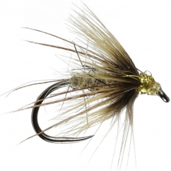 Midas Hares Ear Stillwater Dry - Barbless - Dry Trout Flies