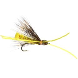 Yellow Hanging Hopper - Trout Flies