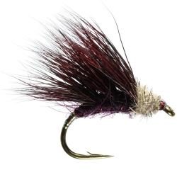 Sedgehog Claret - Trout Sedge Flies