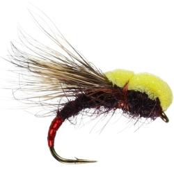 Balloon Caddis Claret - Trout Sedge Flies