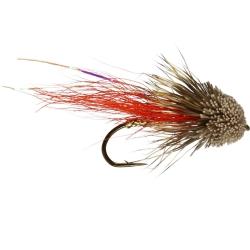 Muddler Minnow Orange (longshank) - Trout Muddler Flies