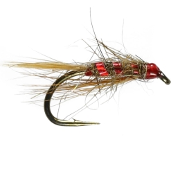 Red Hares Ear Nymph - Unweighted Trout Flies