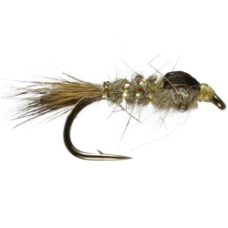 Gold Ribbed Hares Ear - Unweighted Nymph Trout Flies