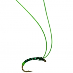 Horny Green Bug - Unweighted Nymphs Trout Flies