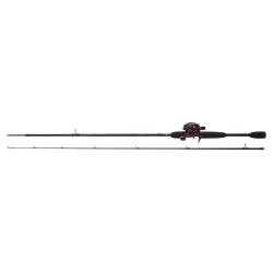 Abu Garcia Black Max Combo - Black Max Low Profile Baitcasting Spinning Kit