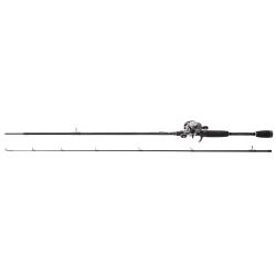 Abu Garcia Silver Max Combo - Low Profile Reel Spinning Fishing Rod