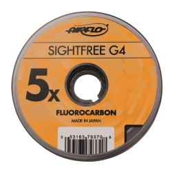 Airflo Sightfree G4 Fluorocarbon - Leader Tippet Material 4th Generation
