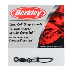 Berkley McMahon Crosslock Snap Swivel - Terminal Fishing Tackle