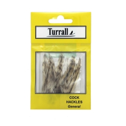 Turrall Cock Hackles Feathers - Trout Fly Tying