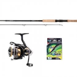Daiwa Whisker Spinning Outfits - Fishing Kits Combos