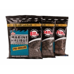 Dynamite Baits Marine Halibut Pre-Drilled Pellets - Coarse Fishing Baits