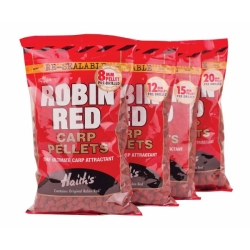 Dynamite Baits Robin Red Carp Pre-Drilled Pellets - Coarse Fishing Baits