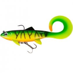 Effzett Pike Seducer Lures - Soft Baits Curl Paddle Tail