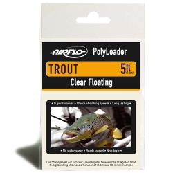 Airflo 5ft Trout Polyleaders - Tapered Leaders Line Fishing