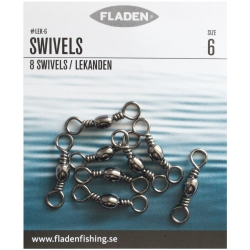 Fladen Fishing Barrel Swivels - Fishing Tackle