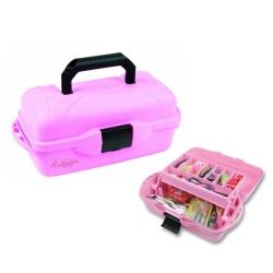 Flambeau 1 Tray Tackle Box - Pink - Game Fishing