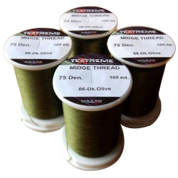 Flybox Textreme Midge Thread - Fly Tying Spools Materials