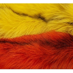 Franc N Snaelda Marble Fox Pelt - Fur Hair Fly Tying Materials