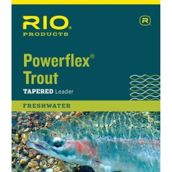 Rio Powerflex Trout Tapered Leaders 9ft 3pk