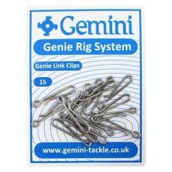 Gemini Genie Link Clips - Rig Components Sea Fishing