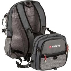 Greys Chest/Back Pack - Fishing Rucksacks Bags Luggage
