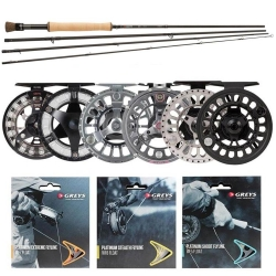 Greys GR60 Fly Outfit - Trout Fly Fishing Kit Combos