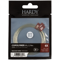 Hardy Copolymer Precision Tapered Leaders - Trout Lines