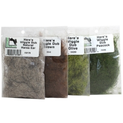 Hareline Hare's Wiggle Dub - Dubbing Fly Tying Materials