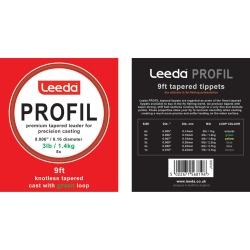 Leeda Profil Casts - Dryfly Tapered Leaders