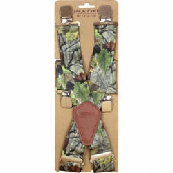 Jack Pyke Camo Elasticated Braces - Trousers Accessories
