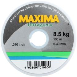 Maxima 100m Ultragreen Monofilament - Fishing Lines