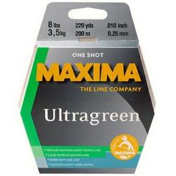 Maxima One Shot Ultragreen Monofil  - Fishing Lines Monofilament