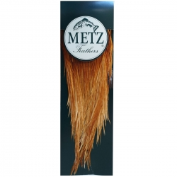 Metz Grade 2 Cock Saddle - Cape Feathers Fly Tying Materials