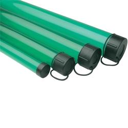 Leeda Green Plastic Rod Tube