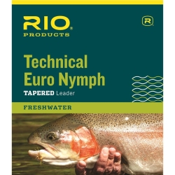 RIO Technical Euro Nymph Tapered Leaders - Fishing Lines