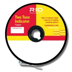 Rio 2-Tone Indicator Tippet - Two Tone European Style Nymphing Line Material