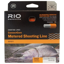 RIO ConnectCore Metered Shooting Line - Running Lines Salmon Fly Fishing Lines