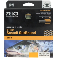 Rio InTouch Scandi Outbound Spey Fly Line - Shooting Head Salmon Fishing