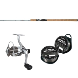 Shakespeare Agility 2 Spinning Outfit - Fishing Kits Combos