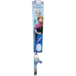 Shakespeare Frozen Childrens Fishing Kit - Kids Disney Spinning Combo