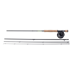 Shakespeare Sigma Fly Combo - Light River Trout Fly Fishing Kit Outfit