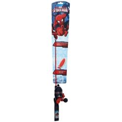 Shakespeare Spiderman Childrens Fishing Kit - Kids Marvel Spinning Combo