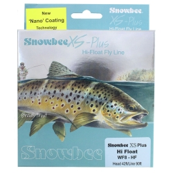 Snowbee XS Plus Hi Float Fly Line - Trout Fly Fishing Lines