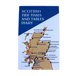 Scottish Tide Times Tables Time Table Diary - Book Timetable