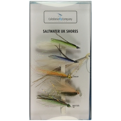 UK Saltwater - Caledonia Fly Selection Pack