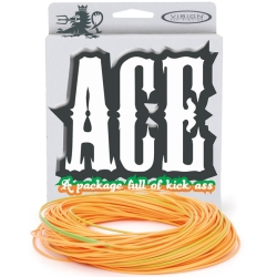 Vision Ace Control Running Line - Shooting Salmon Lines
