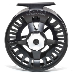 Waterworks Lamson Remix HD Fly Reel - Trout Salmon Large Arbor Fly Fishing Reels